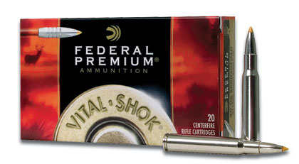 Federal's Trophy Bonded Tip, which boasts a solid copper shank, delivers bone-crushing