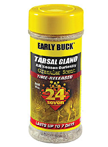 By Curt Wells    Early Buck is a new all-season curiosity scent created from tarsal