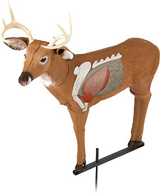 By Staff Report    The exposed vitals on the Archer's Choice Real-World Buck from