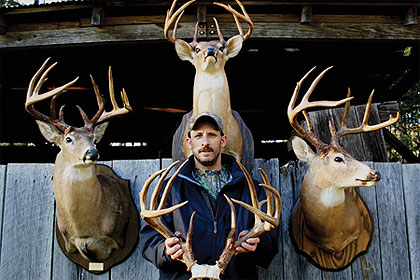 Why hunt far from home when you can kill four trophy whitetails on public land within five miles of your front porch? Arkansas' Frank Foster did just that!