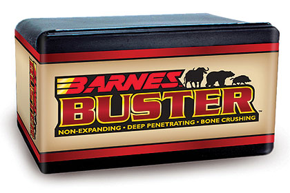Barnes Buster Bullets For Handguns (And Lever-Actions)