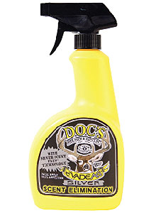 By Curt Wells    Kill odor-causing bacteria with Doc's Evade Ag spray, which features