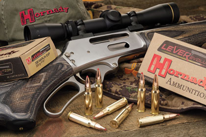 By Gary Lewis    Hornady's latest offerings in the LeveRevolution line -- the .308