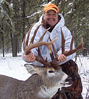 Pennsylvania's Steve Minder bagged this 204-inch 6-by-7 during his trip to Saskatchewan.