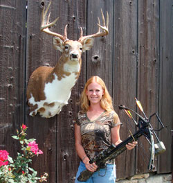 This young Ohioan hasn't been hunting long, but she's already taken a buck few others can match!