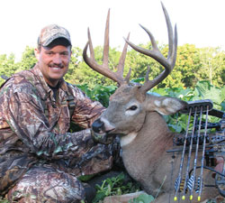 Hitting the woods during the opening days of the season with the following high-impact strategies can generate close encounters with bucks like this one killed by the author.