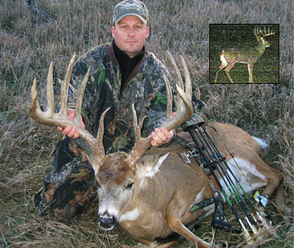 When Iowa bowhunter Ron Ludwig and several relatives decided to buy a piece of hunting land, their goal was to manage the acreage for bigger and better bucks. Last season, Ron surpassed that goal with an Iowa megabuck.