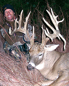 When this avid bowhunter set his sights on shooting a giant non-typical in central Kansas, he had no idea that he'd be making video history by arrowing one of the largest non-typical bucks ever taken on outdoor television.