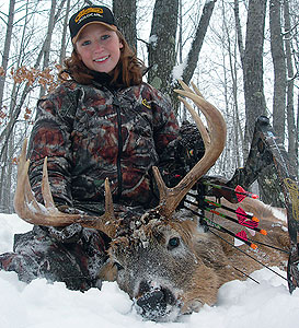 "Who says we're not passing on the hunting tradition to the younger generation? If last season was any indication, at the rate our youngsters seem to be harvesting trophy whitetails, there may not be anything left for the ""over the hill"" generation!"