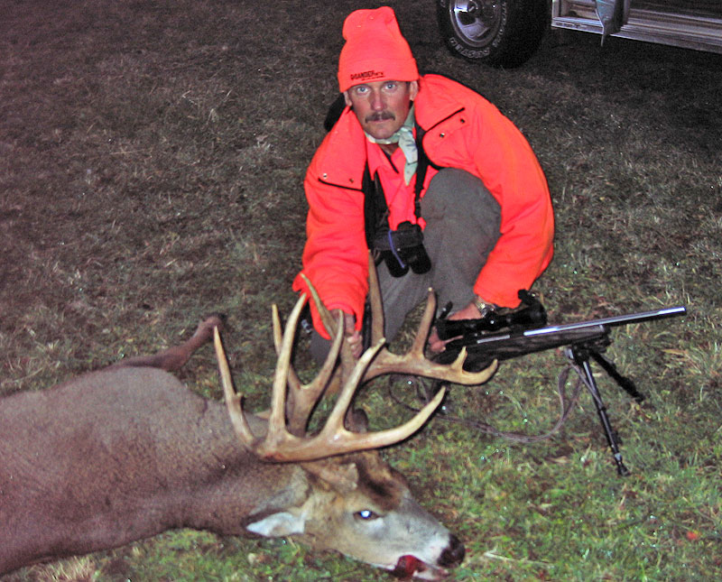Deer of the Day -- The 98th Hour Buck, Jeff Bunke, Minnesota