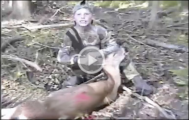 Gordon and crew might have a future North American Whitetail TV host on their hands in New Jersey