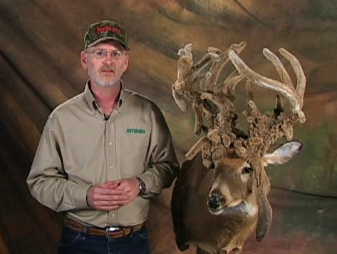 Troy Wilson's 44-point velvet non-typical Kentucky deer is one of the most amazing
