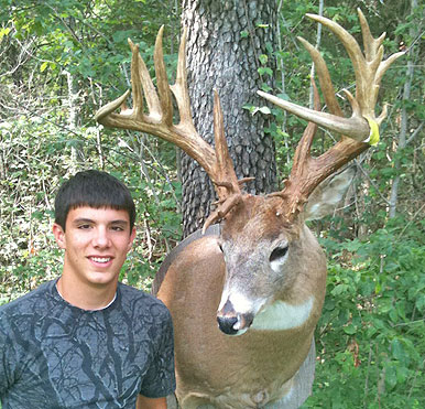 Deer of the Day -- Missouri Monster, John David Berry