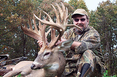 Perfect Storm: 255 6/8-inch Missouri Trophy Buck!