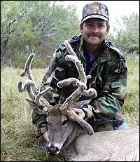 Texan Takes Trophy 'He-She' Whitetail Deer