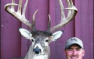 Maryland's tradition of producing great whitetails was upheld in 2002, as Kevin Miller shot the all-time No. 2 East Coast typical. Photo courtesy of Kevin Miller.