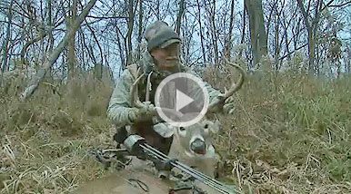 Western Ohio bucks are on the move during bow season, and Stan Potts is there to close the deal on