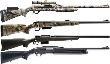 Today's whitetail shotguns are taking the concept of hunting with slug guns to an entirely new