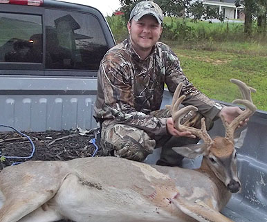 When Josh Kassinger got off of work on September 6th of this year, he decided he was going to hunt
