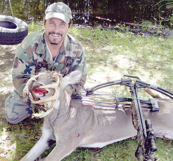 A Michigan hunter has taken what is probably one of the most unique racks of all time.  Scott