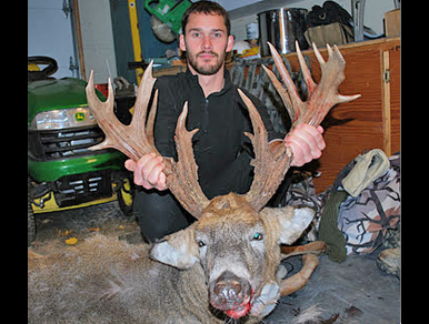 Tree Stumps! Matt Frane's Illinois Trophy Buck