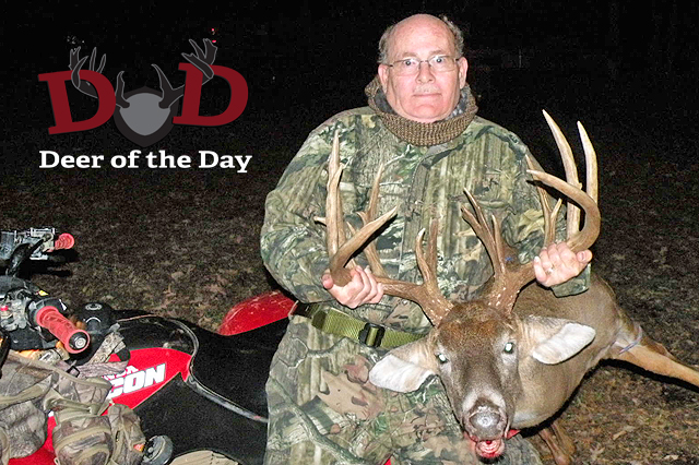 Larry Halla of Worthington, Massachusetts was hunting on November 9, 2011 with his TenPoint