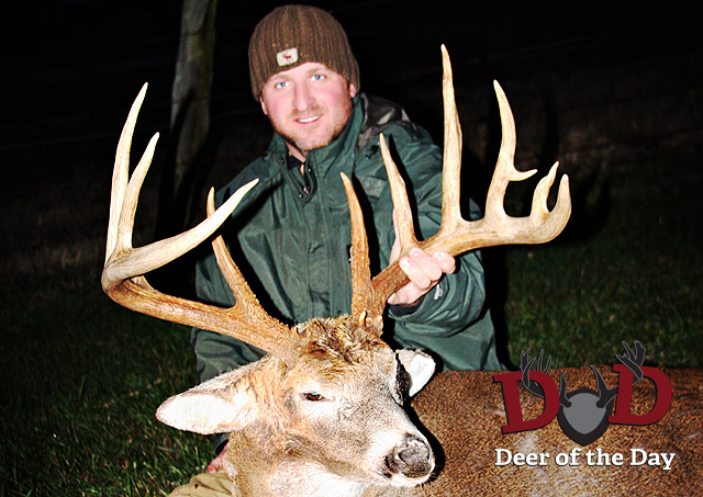 Cliff Conley was able to drop this fantastic buck in Pike County, Ohio the last week in November