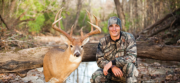 Finding big bucks takes work. Luke and Lance Terstriep knew this particular piece of land might