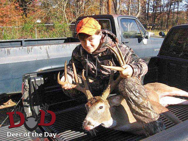I took my 13-year-old son Jacob on the youth hunt, his third time deer hunting, where we live in