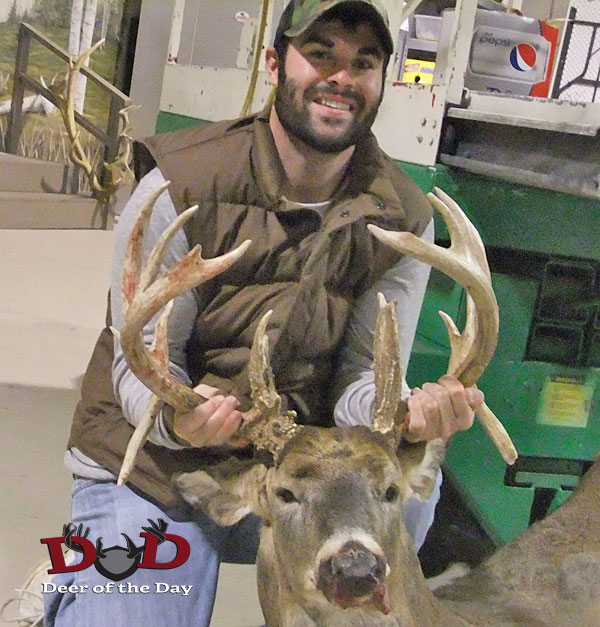 After Matt Lynch was unsuccessful in dropping a mature buck during archery season, he set his