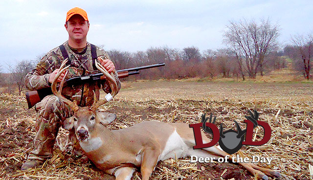 While hunting near Princeville, Illinois the afternoon of November 19th, Caleb Chain was able to