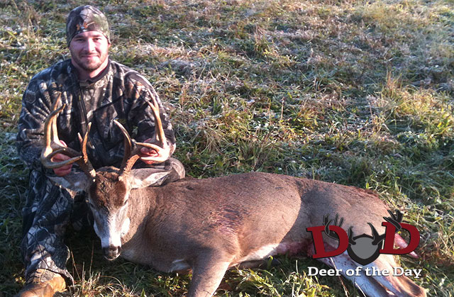 My name is Brad Strohm, I live in Hummelstown, PA and I was fortunate enough to shoot this buck on