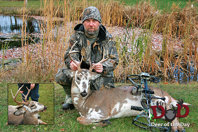 Ken Jarosinski was bowhunting outside of Bristol, New York on November 11, 2011 when he spotted a
