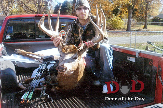 My name is Daniel Limbach and I harvested this monster on November 5, 2011 with my PSE Madness XS