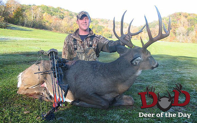 Early October is the time to catch mature bucks coming out of thick bedding areas and heading to a