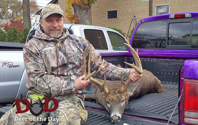 I bagged my New Jersey buck of a lifetime in 2011. For four days I hunted out of one of my