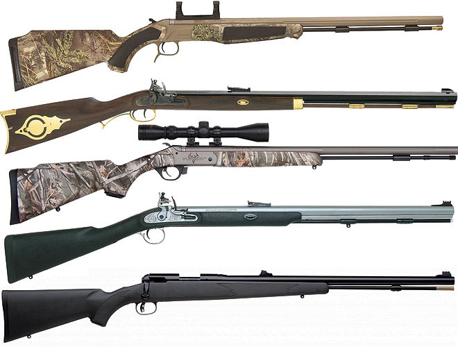 5 New Muzzleloaders for 2012