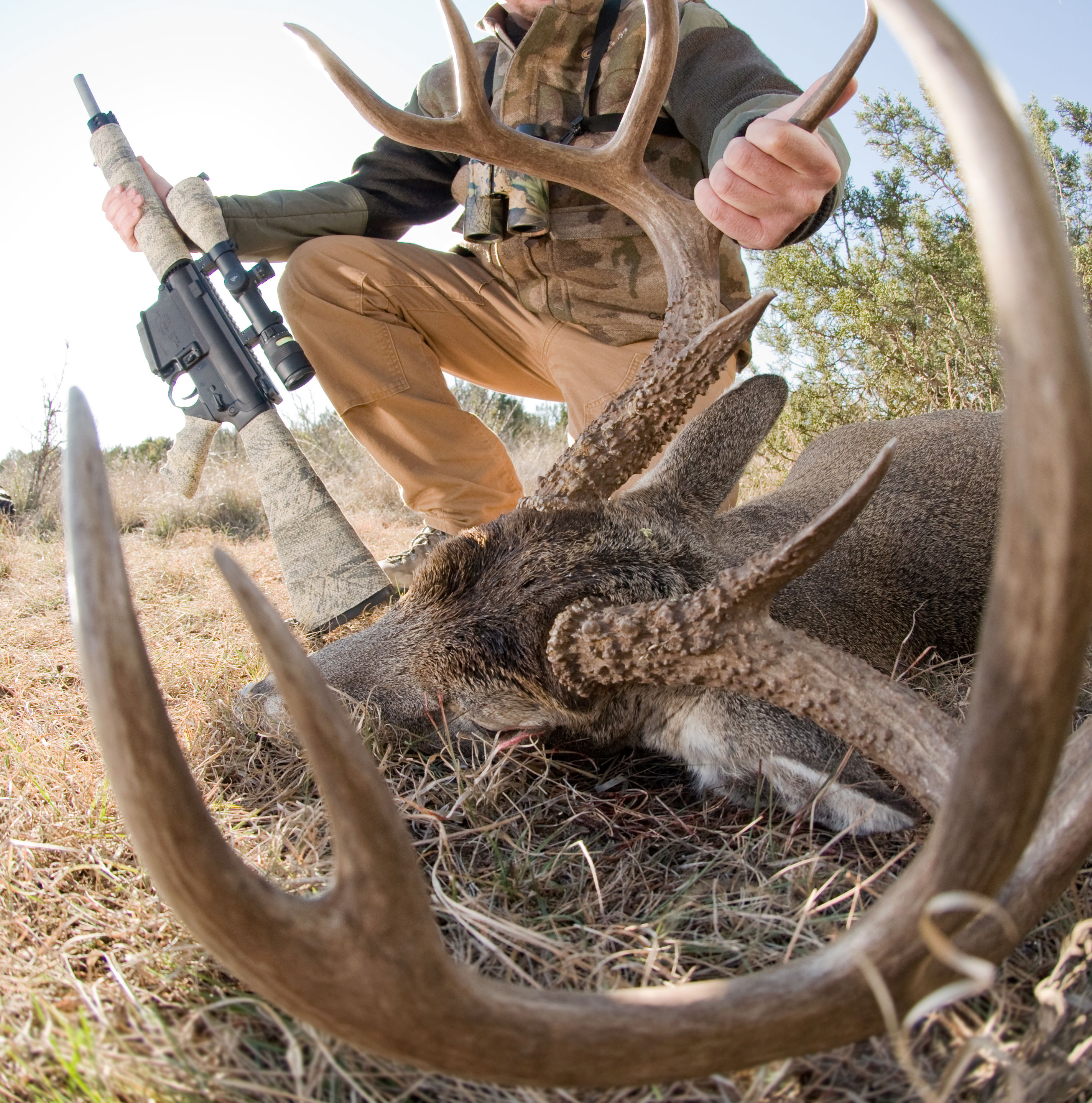 There are some great deer hunters out there today for sure, many from the current who's who of