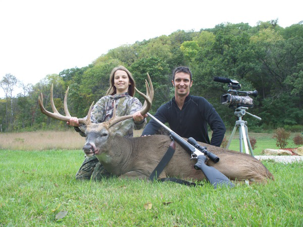 Hunter:  Jordan Dressler State/County: Iowa/Allamakee County Score: 175 Green Score Gear Used: 20