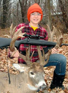 Dylan Beach-Bittner: Minnesota Kid Kills Massive 27-Point Buck