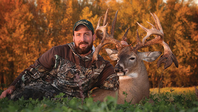 Ben Thomson had no idea a big non-typical even existed in his Iowa hunting area last year. Then he