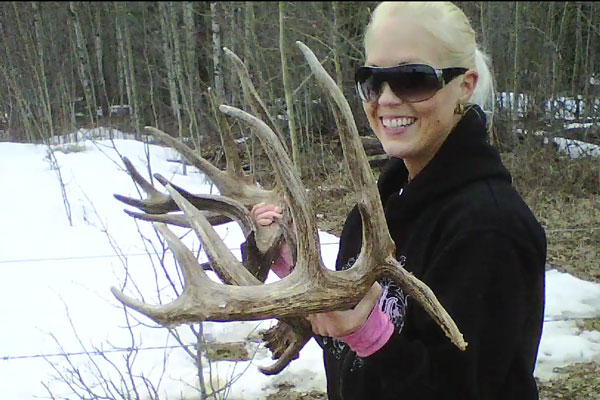 Muzzy Moment: Shed Hunting From a Truck