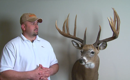 Ohio bowhunter Ronnie Stevens tells the story of how he nabbed his trophy buck back in 2011.