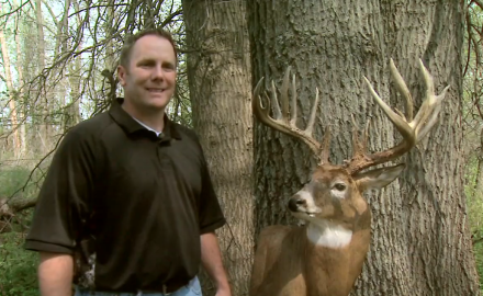 A Missouri hunter tells the story of a large buck he took in Pike County in 2011.