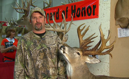 An Illinois bowhunter tells the story of the buck he took that had an impressive amount of antler