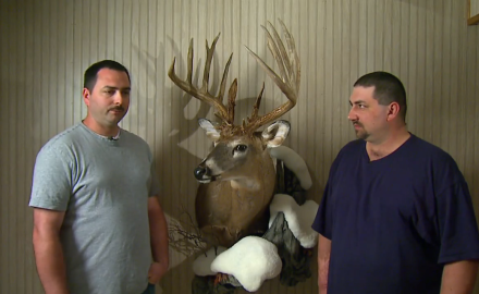 A pair of brothers from Indiana share a bittersweet memory of a 20 pointer they took down.