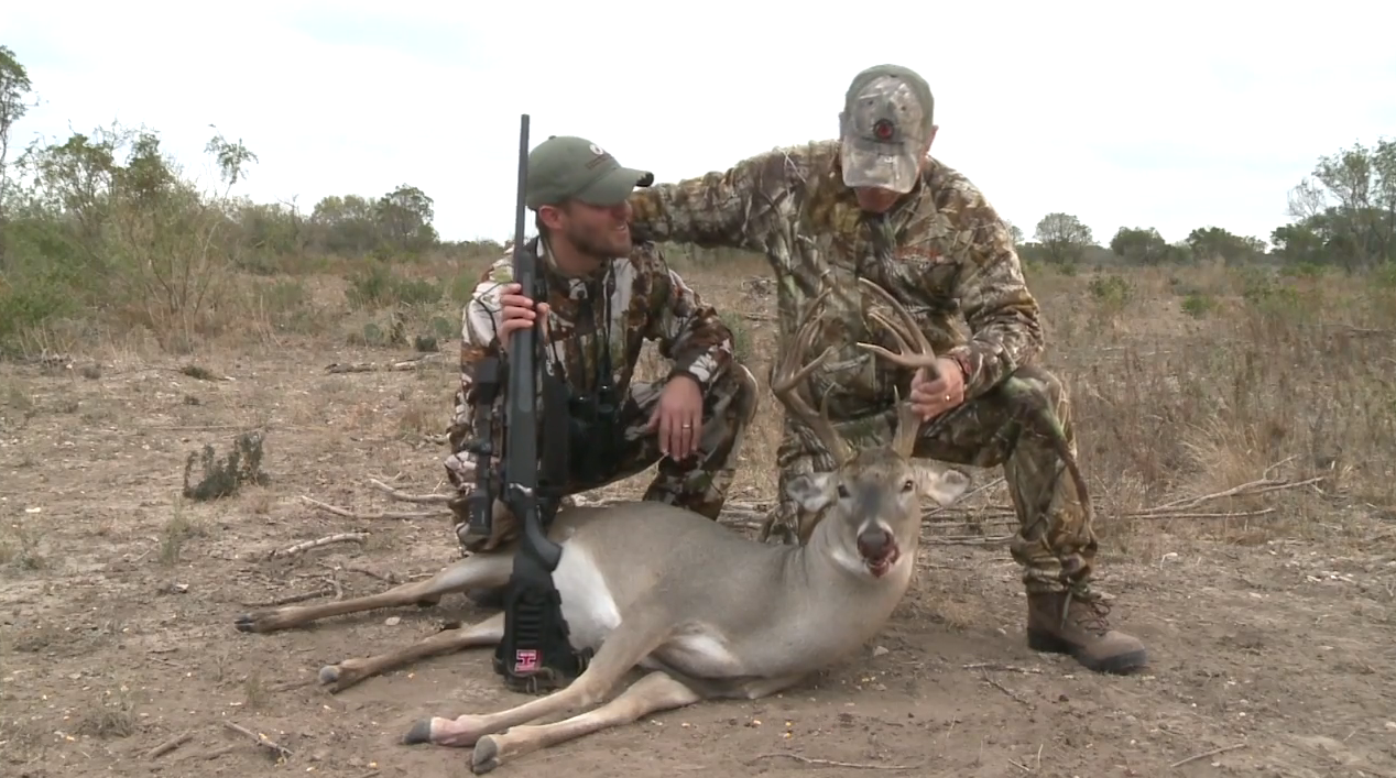 Like Father, Like Son: Texas Whitetail Hunt