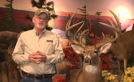 Gordon Whittington highlights a record-breaking 10 point buck taken in West Virginia back in 1994.