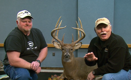 Stan Potts talks with Larry Henson about his giant typical buck that he shot back in 2011.