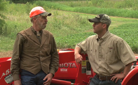James Kroll and Pat Hogan discuss how to best prepare the soil for your deer property food plots.